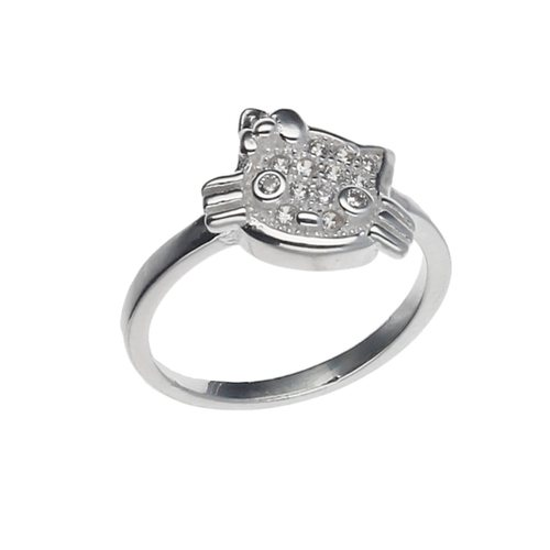 Anillo Midi o Infantil Hello Kitty